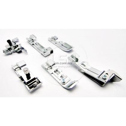 6 Footer Set for Juki/ Merrylock Home Overlock Machine
