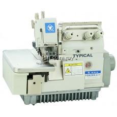 Mesin jahit Typical GN3000-RH Rolled Hemming Overlock Machine inc Servo Motor