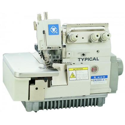 Mesin jahit Typical GN3000-RH Rolled Hemming Overlock Machine inc Servo Motor