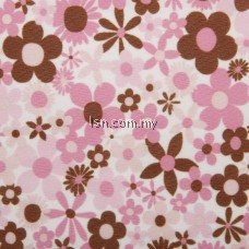 Mod Girl Flowers And Dots Assorted PUL Packaged Fabric