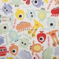 Dinos And Monsters Assorted PUL Packaged Fabric