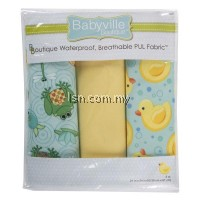 Playful Pond And Ducks Assorted PUL Packaged Fabric