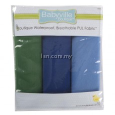 Boy Solids PUL Packaged Fabric