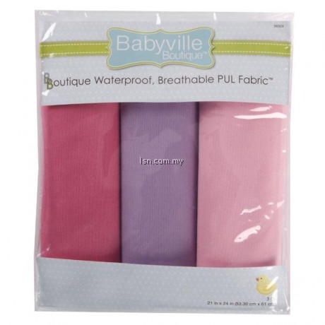 Girl Solids PUL Packaged Fabric