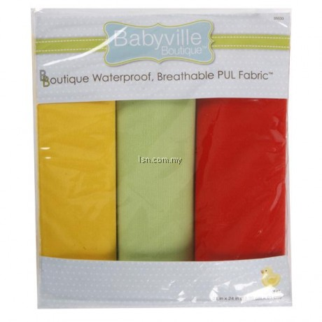 Neutral Solids PUL Packaged Fabric