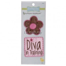 Fun Flower and Diva Appliques