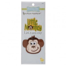 Monkey and Little Monkey Appliques