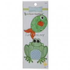 Frogs And Fish Appliques