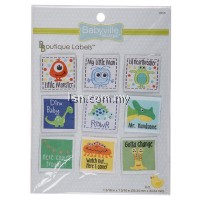Boy Design Labels