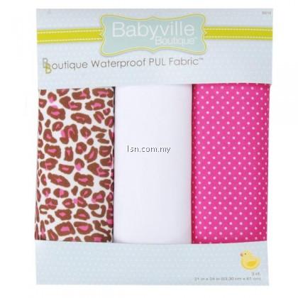 Sassy Cheetah And Sassy Dots PUL Packaged Fabric