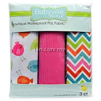 Little Birds And Chevron Assorted PUL Packaged Fabric