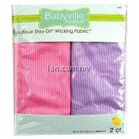 Sweet Assortment Pink And Lavender Packaged Stay-Driル Wicking Fabric