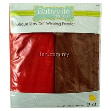 Sweet Assortment Red And Brown Packaged Stay-Driル Wicking Fabric