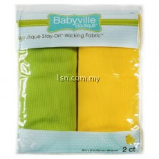 Sweet Assortment Green And Yellow Packaged Stay-Driル Wicking Fabric