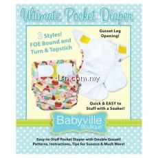 Ultimate Pocket Diaper Pattern Booket