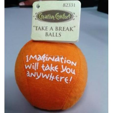 TAKE A BREAK  BALLS(ORANGE)