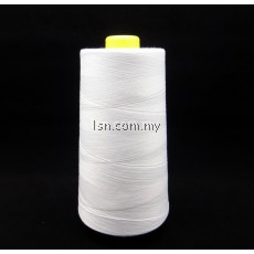 Sewing Thread (White) 13000m (Dolphin Brand)