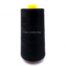 Sewing Thread (Black) 13000m (Dolphin Thread)
