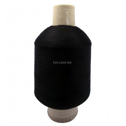 Overlock Machine Thread (Halus) 22000m - Black- (Dolphin Brand)
