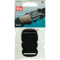 Clip buckle plastic 25mm black