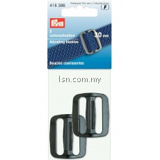 Adjusting buckles plastic 30mm black