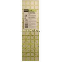 Omnigrip non-slip ruler 4 x 14 inch angles
