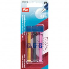 Refills for cartridge pencil yellow/black/pink