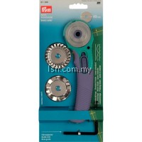 Wave blade for Multi-purpose rotary cutter + 3 Blades
