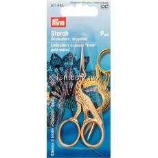 Embroidery Scissors Stork 3 1/2'' 9 cm