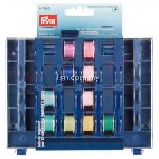 Bobbin Box for 32 Bobbins 3 x 13 x 16 cm