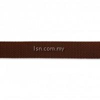 Strap for rucksacks 25 mm brown
