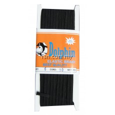 Elastic Braid Dolphin (Black) 6x10m