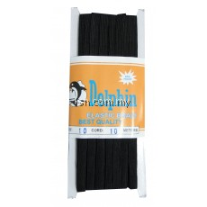 Elastic Braid Dolphin (Black) 10x10m